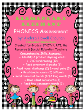 phonics assess picture