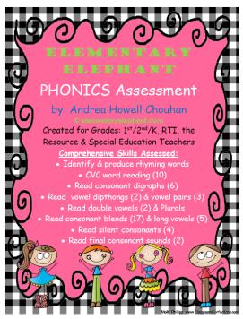 phonics assess picture